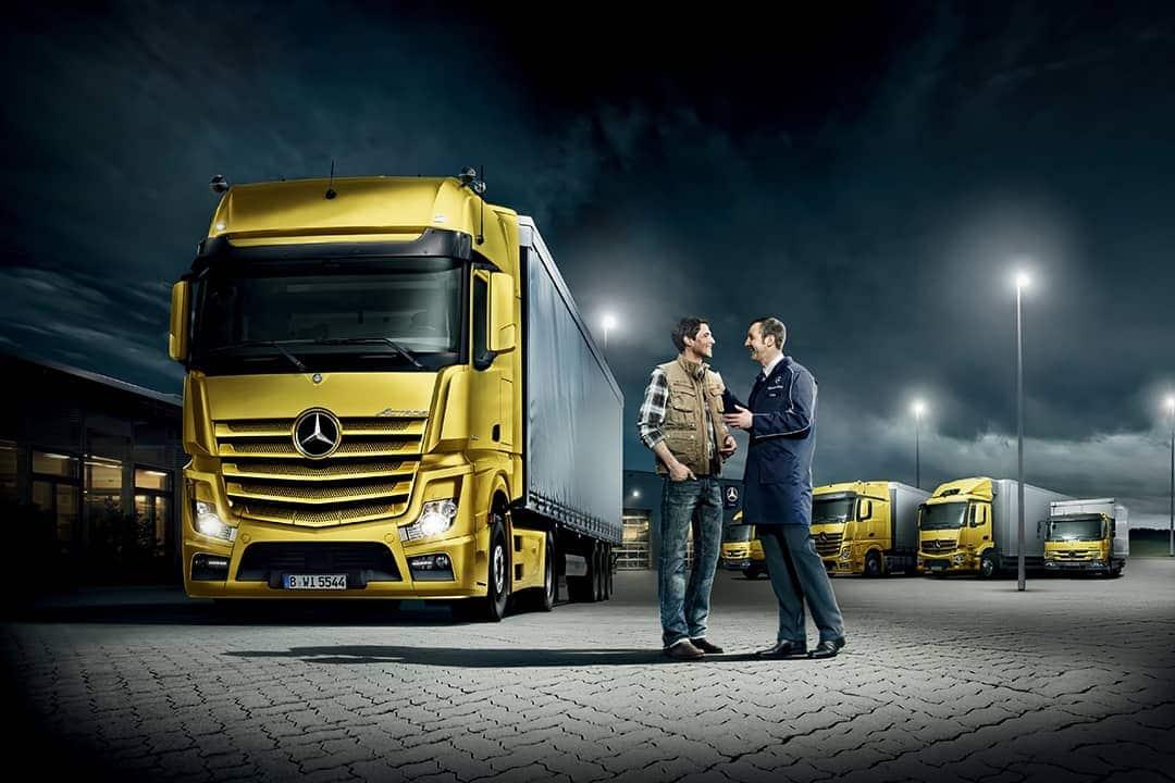 ServicePartner- Und TeilePartner Für Ihren LKW